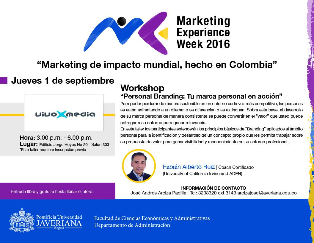 Marketing Experience Week